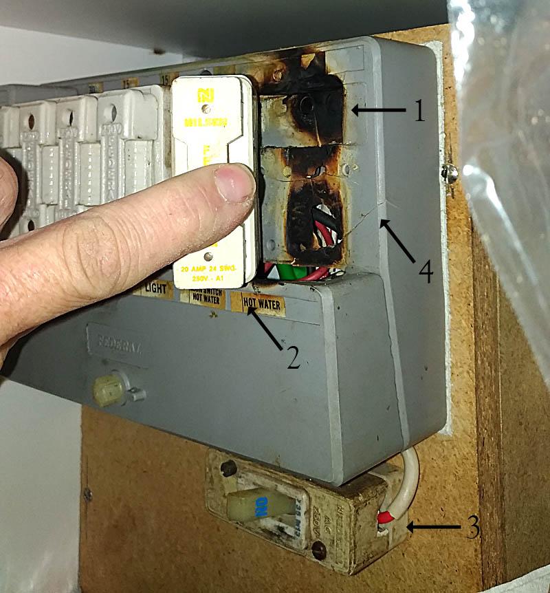 Dangerous switchboard