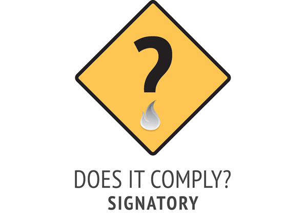 Does it comply logo