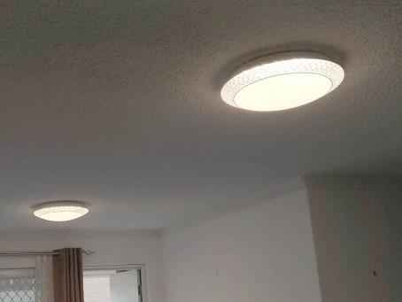 Fancy LED light oyster light fittings